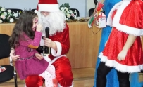 CECCAR Bacău: Vizita lui Moș Crăciun