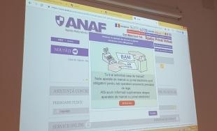 CECCAR Brașov: Noutățile legislative privind aparatele de marcat electronice fiscale, discutate de profesioniștii contabili din județ cu specialiști ai AJFP