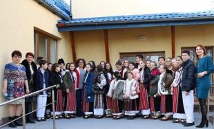 Crăciun în costum tradițional, la Buzău