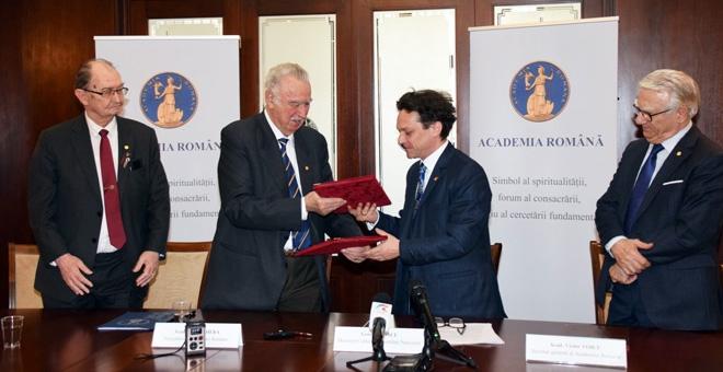 Academia Română și Ministerul Culturii și Identității Naționale (MCIN)