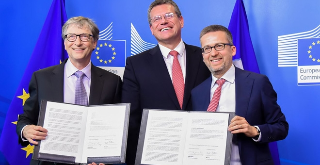 Comisia Europeană și Coaliția <em>Breakthrough Energy</em>