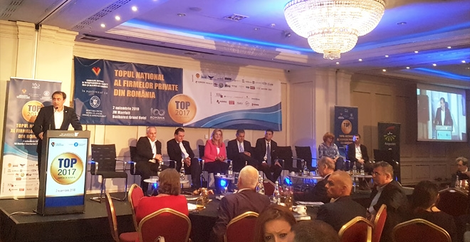 CECCAR, partner al Topului Național al Firmelor Private din România, organizat de CNIPMMR