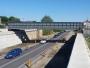 S-a redeschis circulaţia feroviară pe podul de la Mogoşoaia