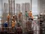 România a înregistrat cea mai mare scădere anuală a lucrărilor de construcţii din UE, în noiembrie