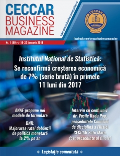 CECCAR Business Magazine, nr. 1 / 16-22 ianuarie 2018
