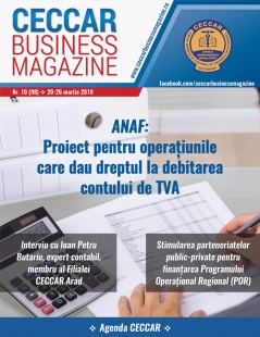 CECCAR Business Magazine, nr. 10 / 20-26 martie 2018