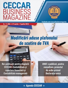 CECCAR Business Magazine, nr. 11 / 27 mar. - 2 apr. 2018