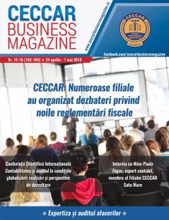 CECCAR Business Magazine, nr. 15-16 / 24 aprilie - 7 mai 2018