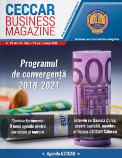 CECCAR Business Magazine, nr. 19-20 / 22 mai - 4 iunie 2018