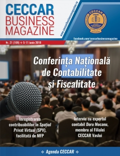 CECCAR Business Magazine, nr. 21 / 5-11 iunie 2018