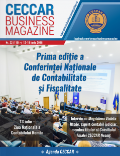 CECCAR Business Magazine, nr. 22 / 12-18 iunie 2018