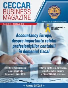 CECCAR Business Magazine, nr. 23 / 19-25 iunie 2018