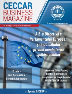 CECCAR Business Magazine, nr. 26-27 / 10-23 iulie 2018