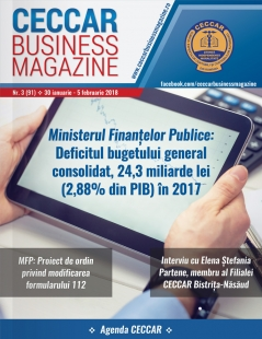 CECCAR Business Magazine, nr. 3 / 30 ian. - 5 feb. 2018