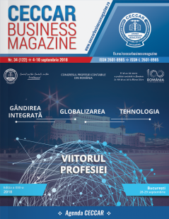 CECCAR Business Magazine, nr. 34 / 4-10 sept. 2018