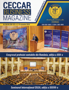 CECCAR Business Magazine, nr. 38-39 / 2-15 oct. 2018