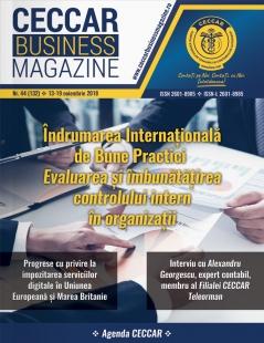 CECCAR Business Magazine, nr. 44 / 13-19 nov. 2018