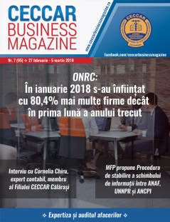 CECCAR Business Magazine, nr. 7 / 27 feb. - 5 mar. 2018