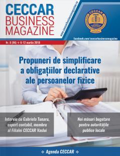 CECCAR Business Magazine, nr. 8 / 6-12 martie 2018