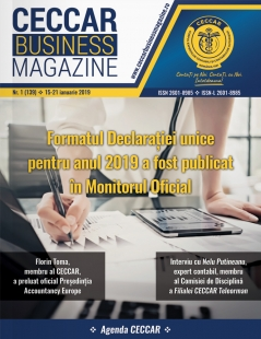 CECCAR Business Magazine, nr. 1 / 15-21 ian. 2019