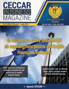 CECCAR Business Magazine, nr. 11 / 26 mar. - 1 apr. 2019