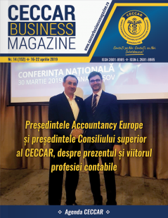 CECCAR Business Magazine, nr. 14 / 16-22 aprilie 2019