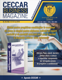 CECCAR Business Magazine, nr. 18 / 21-27 mai 2019