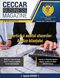 CECCAR Business Magazine, nr. 20 / 4-10 iunie 2019