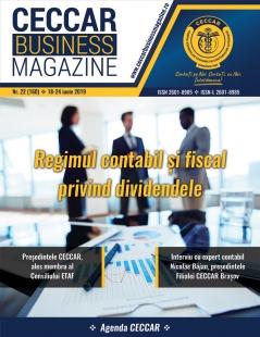CECCAR Business Magazine, nr. 22 / 18-24 iunie 2019