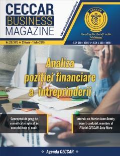 CECCAR Business Magazine, nr. 23 / 25 iunie - 1 iulie 2019