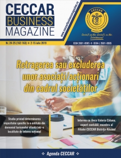 CECCAR Business Magazine, nr. 24-25 / 2-15 iulie 2019