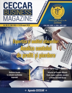CECCAR Business Magazine, nr. 30-31 / 13-26 august 2019