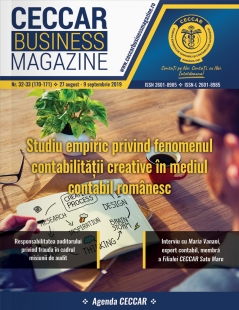 CECCAR Business Magazine, nr. 32-33 / 27 aug. - 9 sept. 2019