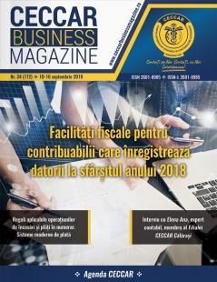 CECCAR Business Magazine, nr. 34 / 10-16 septembrie 2019