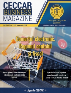 CECCAR Business Magazine, nr. 35 / 17-23 sept. 2019