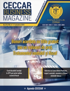CECCAR Business Magazine, nr. 37 / 1-7 octombrie 2019