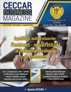 CECCAR Business Magazine, nr. 41 / 29 oct. - 4 nov. 2019