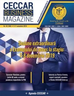 CECCAR Business Magazine, nr. 42 / 5-11 nov. 2019