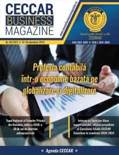 CECCAR Business Magazine, nr. 43 / 12-18 nov. 2019