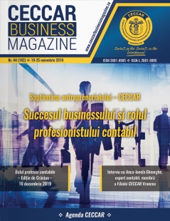 CECCAR Business Magazine, nr. 44 / 19-25 nov. 2019