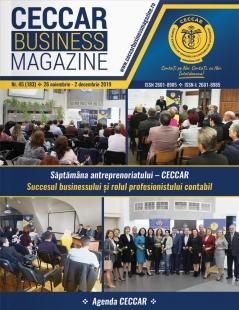 CECCAR Business Magazine, nr. 45 / 26 nov. - 2 dec. 2019
