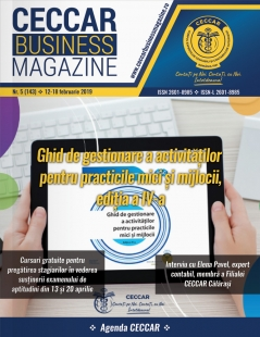 CECCAR Business Magazine, nr. 5 / 12-18 febr. 2019