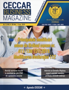 CECCAR Business Magazine, nr. 7 / 26 febr. - 4 mar. 2019