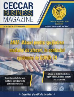CECCAR Business Magazine, nr. 10 / 17-23 martie 2020
