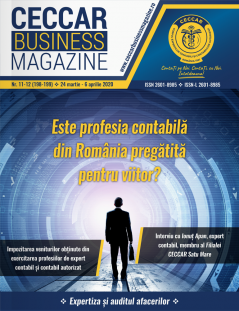 CECCAR Business Magazine, nr. 11-12 / 24 mar. - 6 apr. 2020