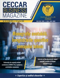 CECCAR Business Magazine, nr. 13-14 / 7-22 aprilie 2020
