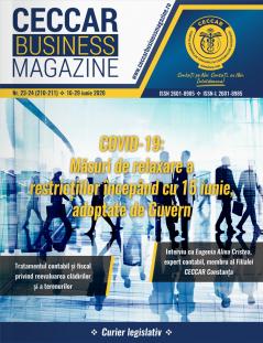 CECCAR Business Magazine, nr. 23-24 / 16-29 iunie 2020