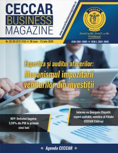 CECCAR Business Magazine, nr. 25-26 / 30 iun. - 13 iul. 2020