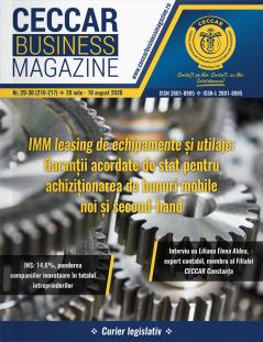 CECCAR Business Magazine, nr. 29-30 / 28 iul.-10 aug. 2020