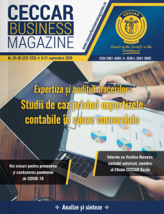 CECCAR Business Magazine, nr. 35-36 / 8-21 sept. 2020
